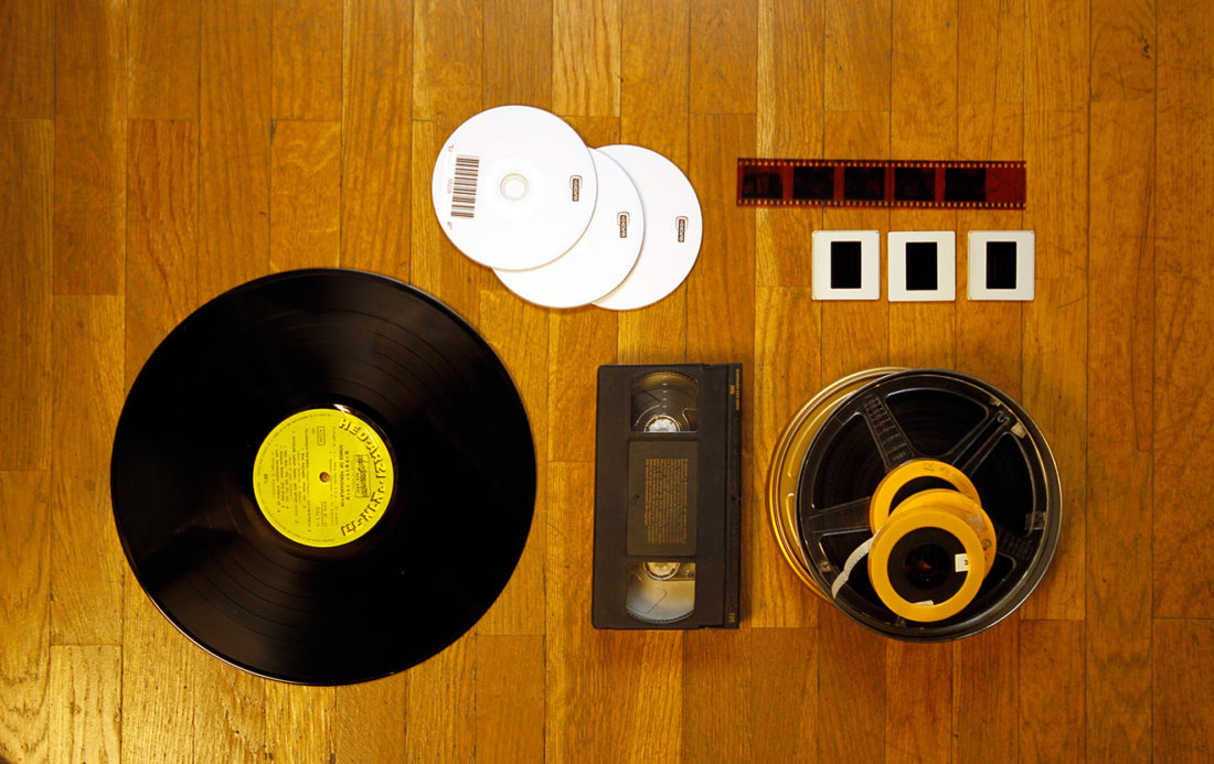 domestic vhs vinilo videolab